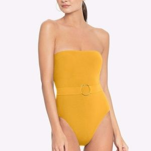 ROBIN PICCONE LUCA BANBEAU ONE PIECE SWIMSUIT, NEW